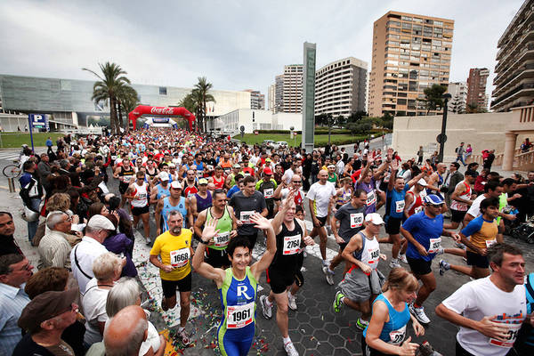 Benidorm is running