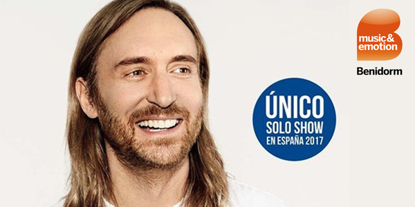 David Guetta in Benidorm